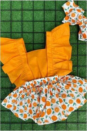 ست لباس ساده برند tektiklagiyin رنگ نارنجی کد ty99899217