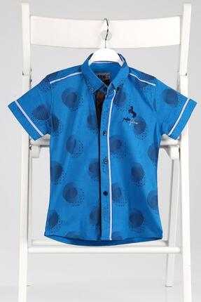 خرید انلاین پیراهن طرح دار برند Ette رنگ آبی کد ty100296616