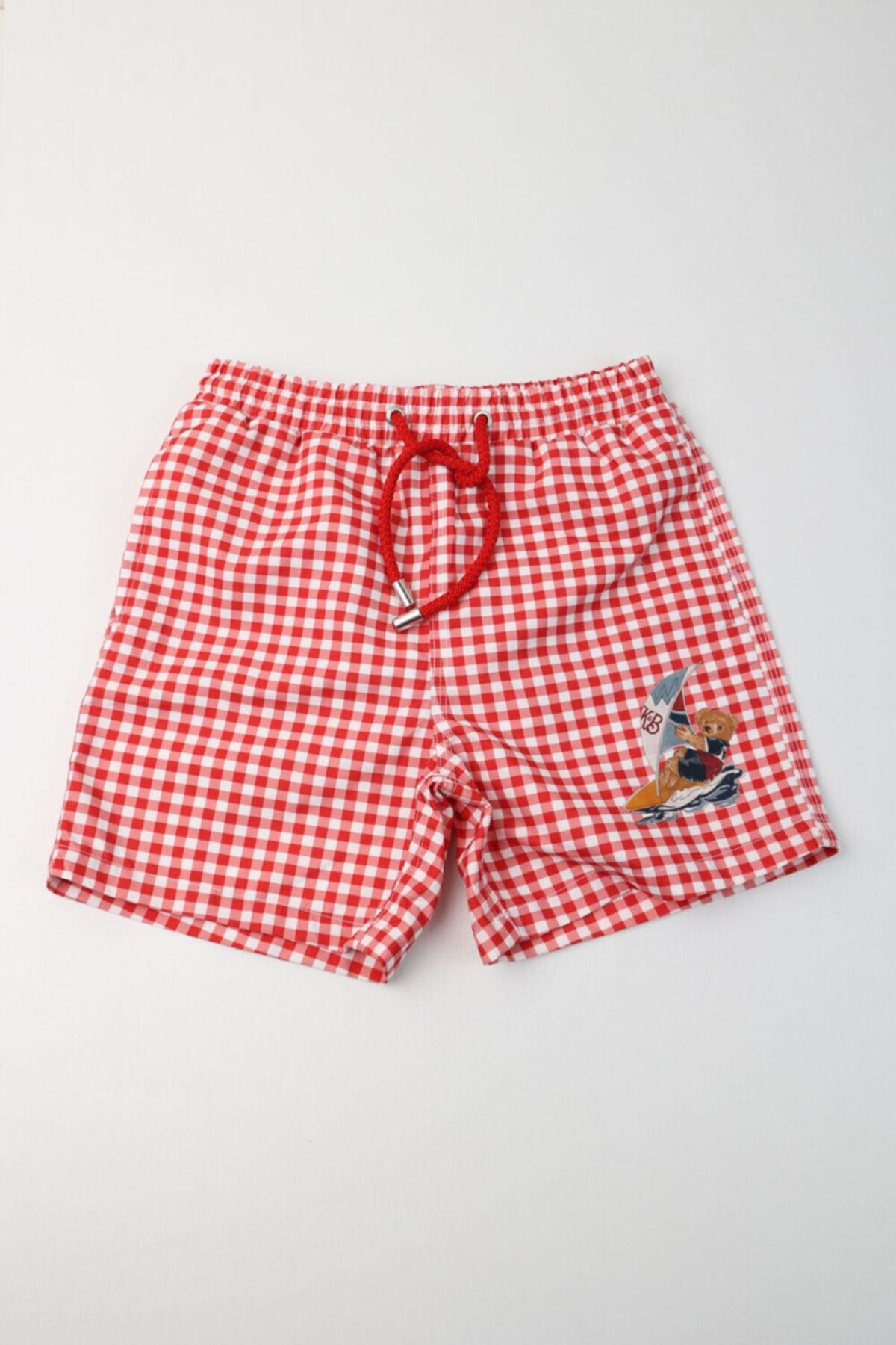 فروشگاه مایو بچه گانه برند Katia&Bony رنگ قرمز ty103712031