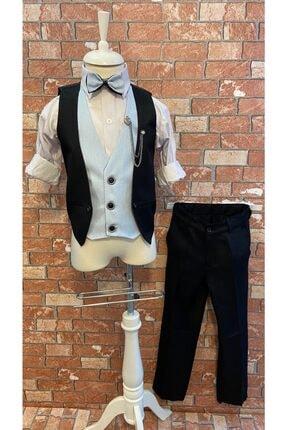 خرید لباس مجلسی پسرانه فانتزی برند HAYTA رنگ مشکی کد ty107216943