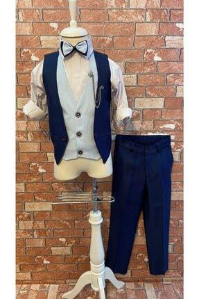 فروش پستی لباس مجلسی پسرانه ترک برند HAYTA رنگ لاجوردی کد ty107458230