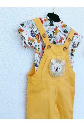 سرهمی پسرانه ارزان برند yayakids رنگ زرد ty108576704