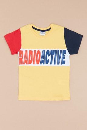خرید تیشرت پسرانه فانتزی برند Fulla Moda رنگ زرد ty109633238