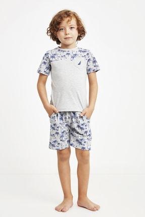 خرید انلاین شلوارک پسرانه فانتزی برند Nautica رنگ نقره ای کد ty110284576