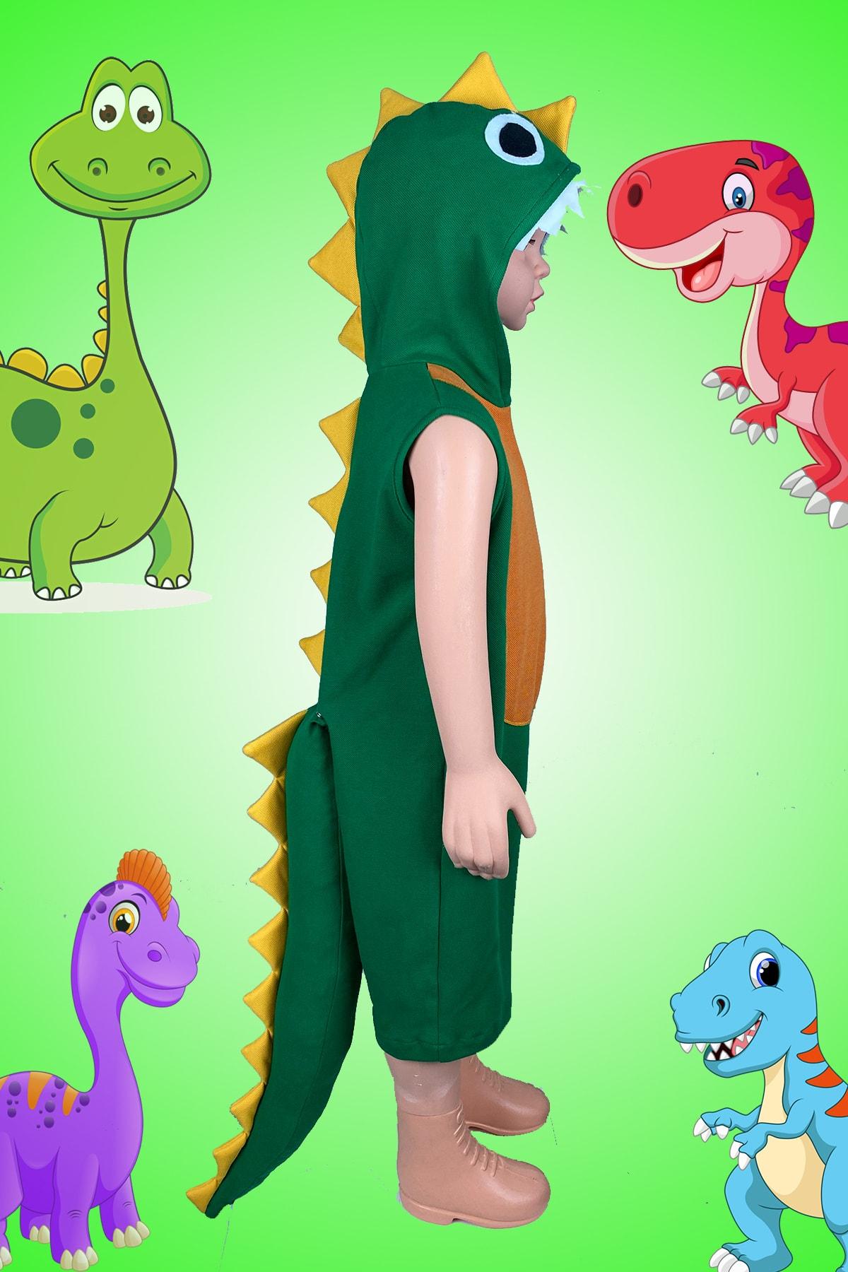 لباس خاص پسرانه فانتزی برند Zeze Kostüm رنگ سبز کد ty110748021