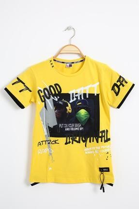 خرید تیشرت بچه گانه شیک مجلسی برند Ette رنگ زرد ty112078140
