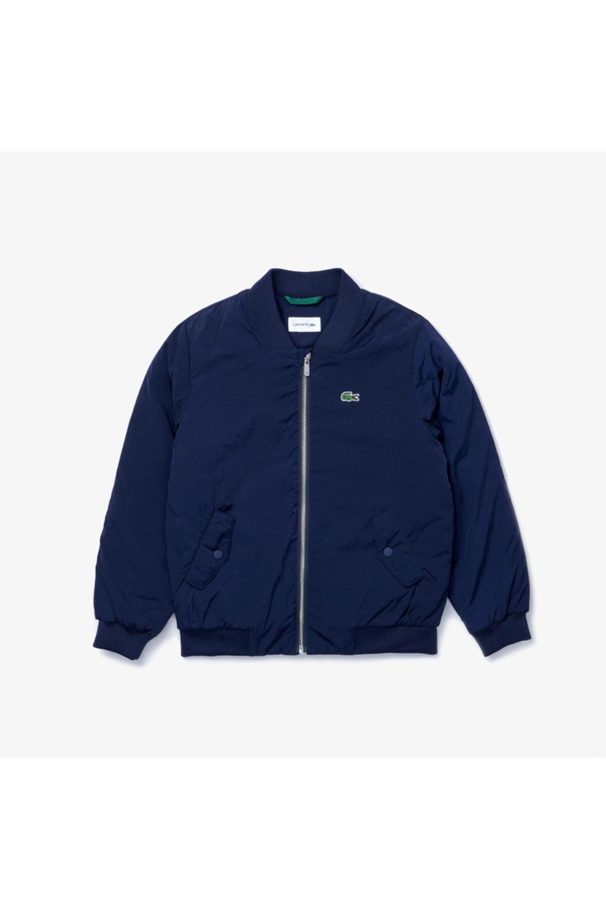 فروش پستی ژاکت پسرانه ترک برند لاگوست lacoste رنگ لاجوردی کد ty113273587