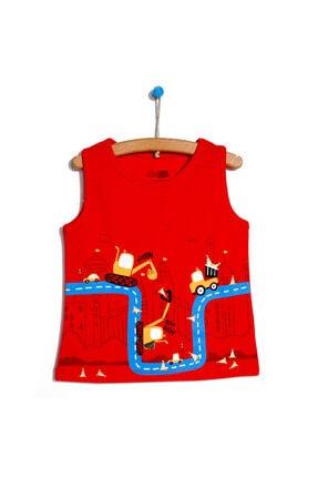 تیشرت بچه گانه ترکیه برند HelloBaby رنگ قرمز ty113868165