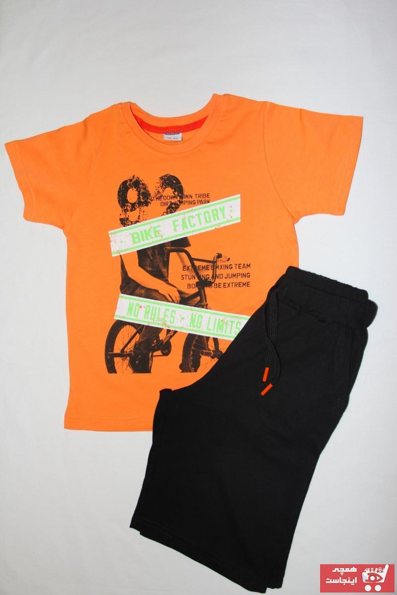 خرید پستی ست لباس پسرانه فانتزی برند Tuğranes رنگ نارنجی کد ty113890782