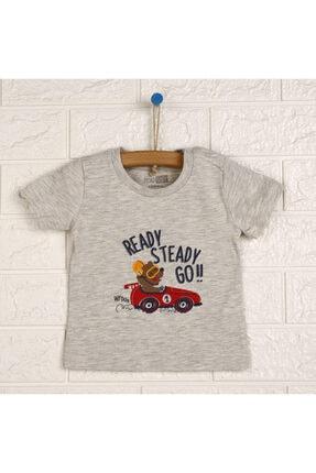 فروش اینترنتی تیشرت بچه گانه با قیمت برند HelloBaby رنگ نقره ای کد ty114228505