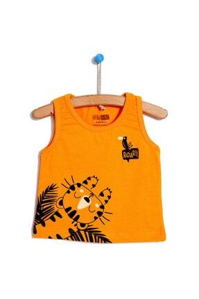 فروش تیشرت پسرانه جدید برند HelloBaby رنگ نارنجی کد ty114241928