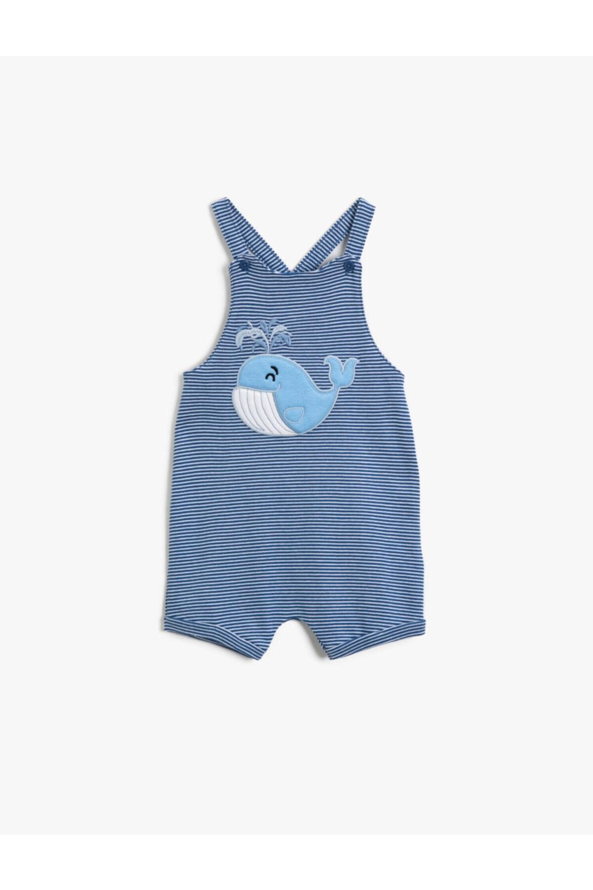 فروش پستی ست سرهمی پسرانه برند Koton Kids رنگ آبی کد ty114422674