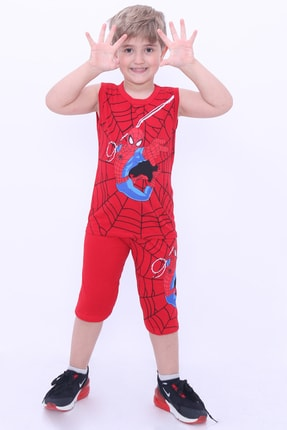 سفارش نقدی تی شرت ارزان برند Cansın Mini رنگ قرمز ty117323261