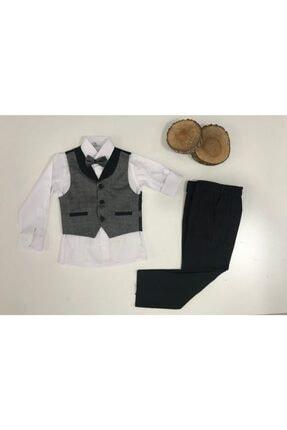 لباس مجلسی ارزان پسرانه برند Terry Kids رنگ مشکی کد ty123372650
