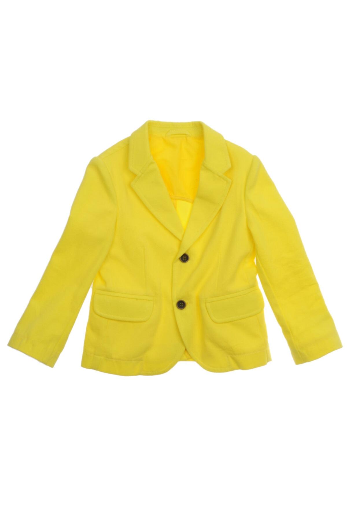 ژاکت نخی برند Panço رنگ زرد ty4251308