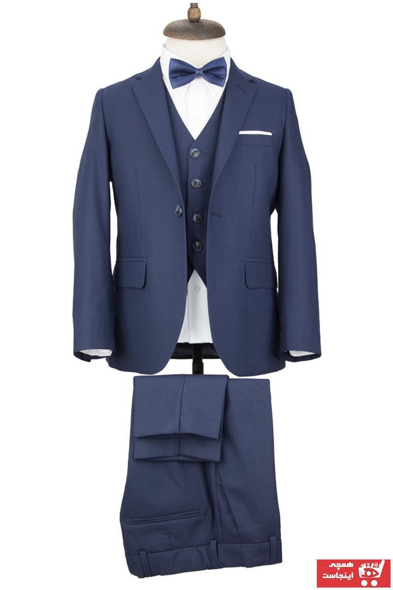 فروشگاه لباس مجلسی پسرانه برند Middleist رنگ لاجوردی کد ty44220665