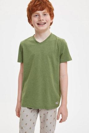 خرید پستی تیشرت پسرانه فانتزی برند دفاکتو رنگ زرد ty4512422