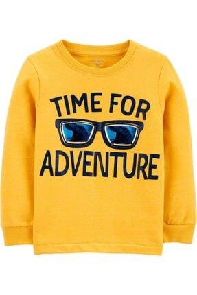 پلیور پسرانه ارزان قیمت برند Carters رنگ زرد ty54710551