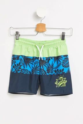 خرید مایو پسرانه فانتزی برند دفاکتو رنگ آبی کد ty6184509