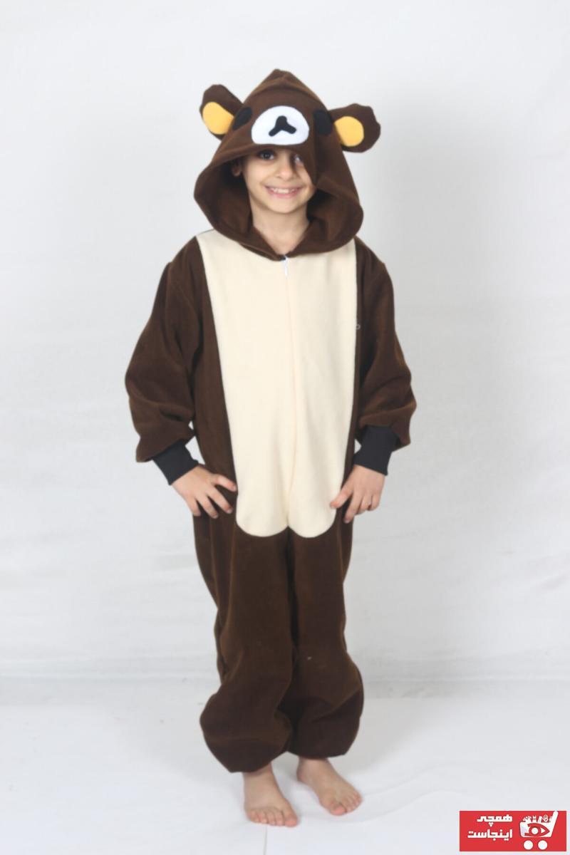 خرید نقدی لباس خاص پسرانه ترک  برند yüsü kostüm evi رنگ قهوه ای کد ty72418523