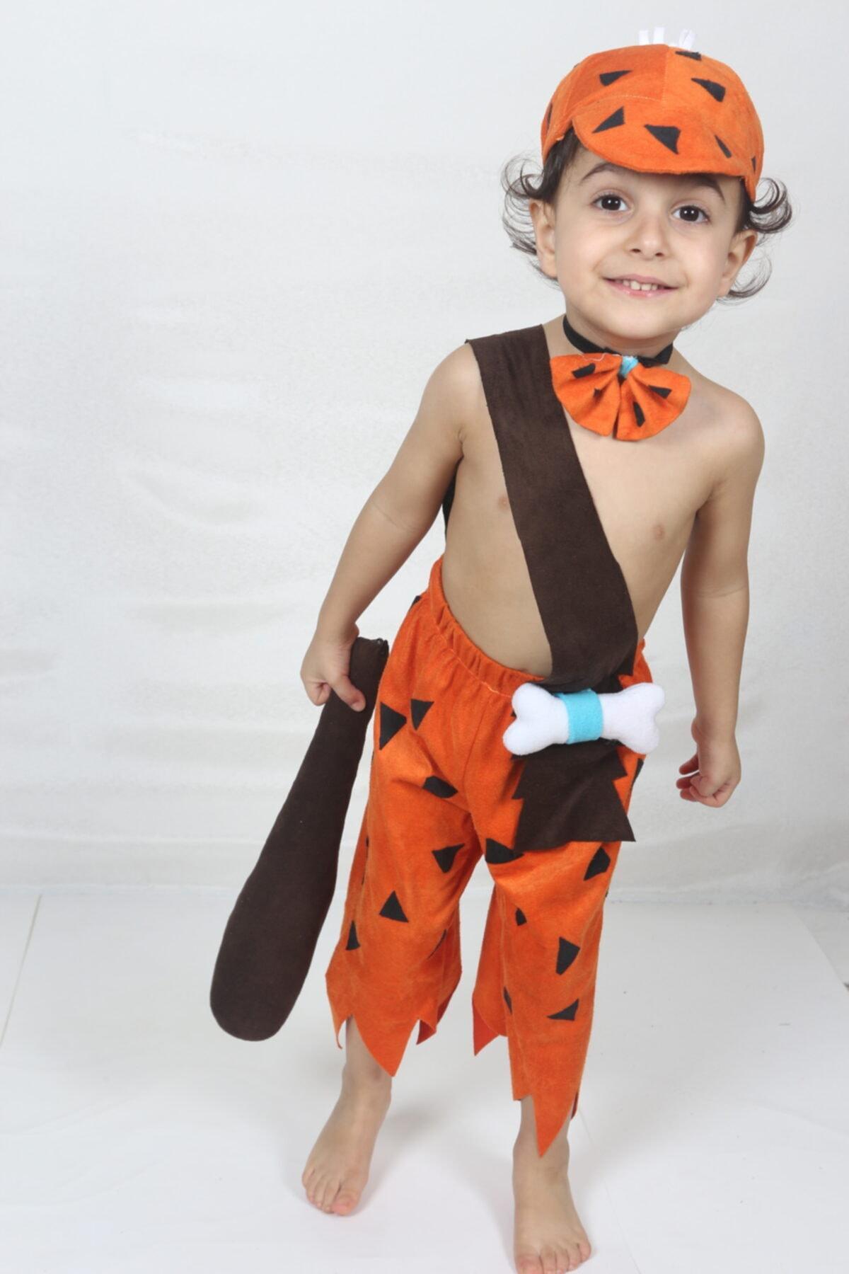 لباس خاص پسرانه ارزان برند yüsü kostüm evi رنگ نارنجی کد ty73972037