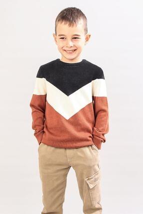 پلیور بچه گانه قیمت مناسب برند ALEXANDERGARDI آجری ty86025626
