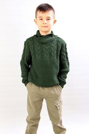پلیور پسرانه زیبا برند ALEXANDERGARDI رنگ خاکی کد ty86713814