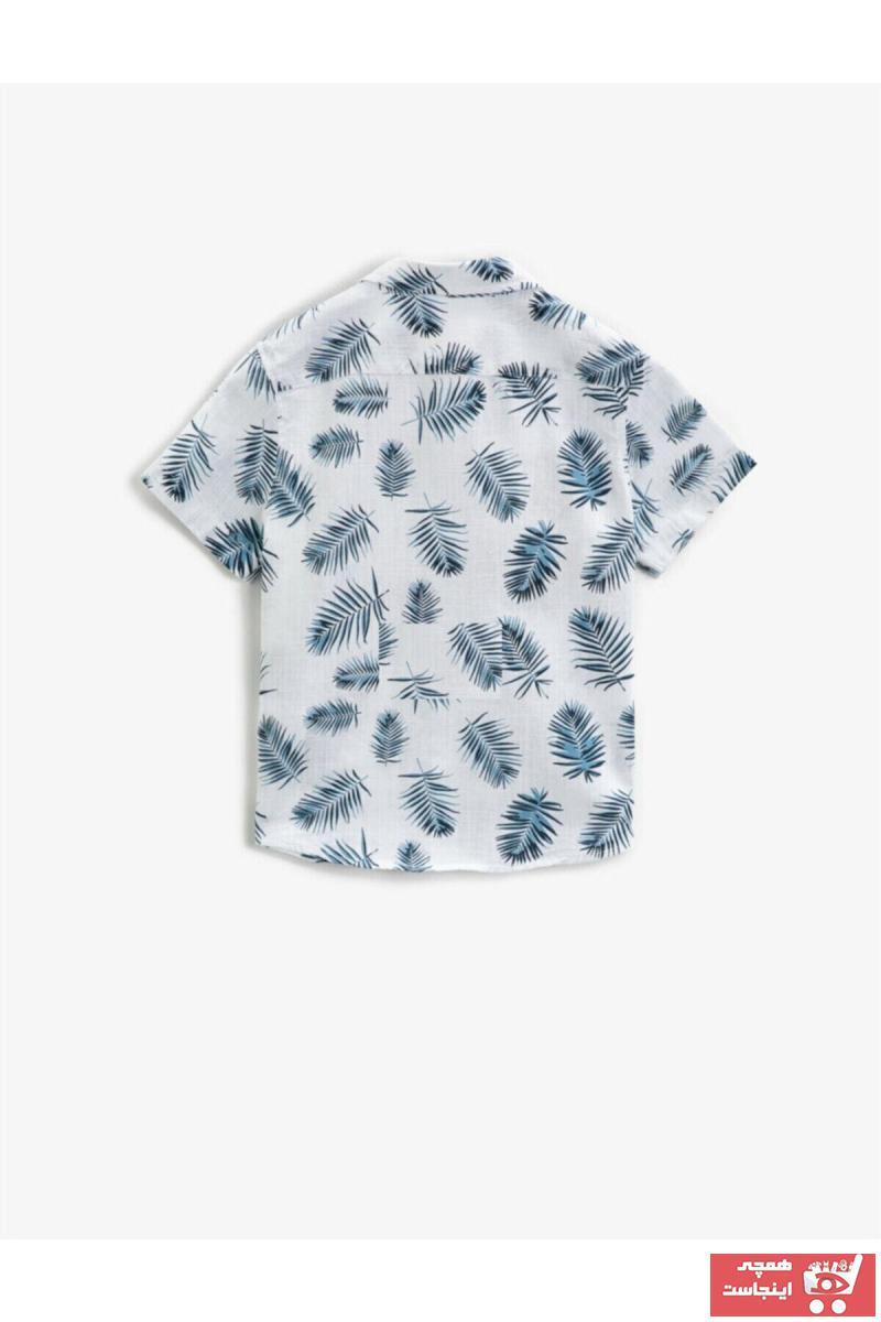فروش انلاین پیراهن پسرانه مجلسی برند Koton Kids کد ty93411641