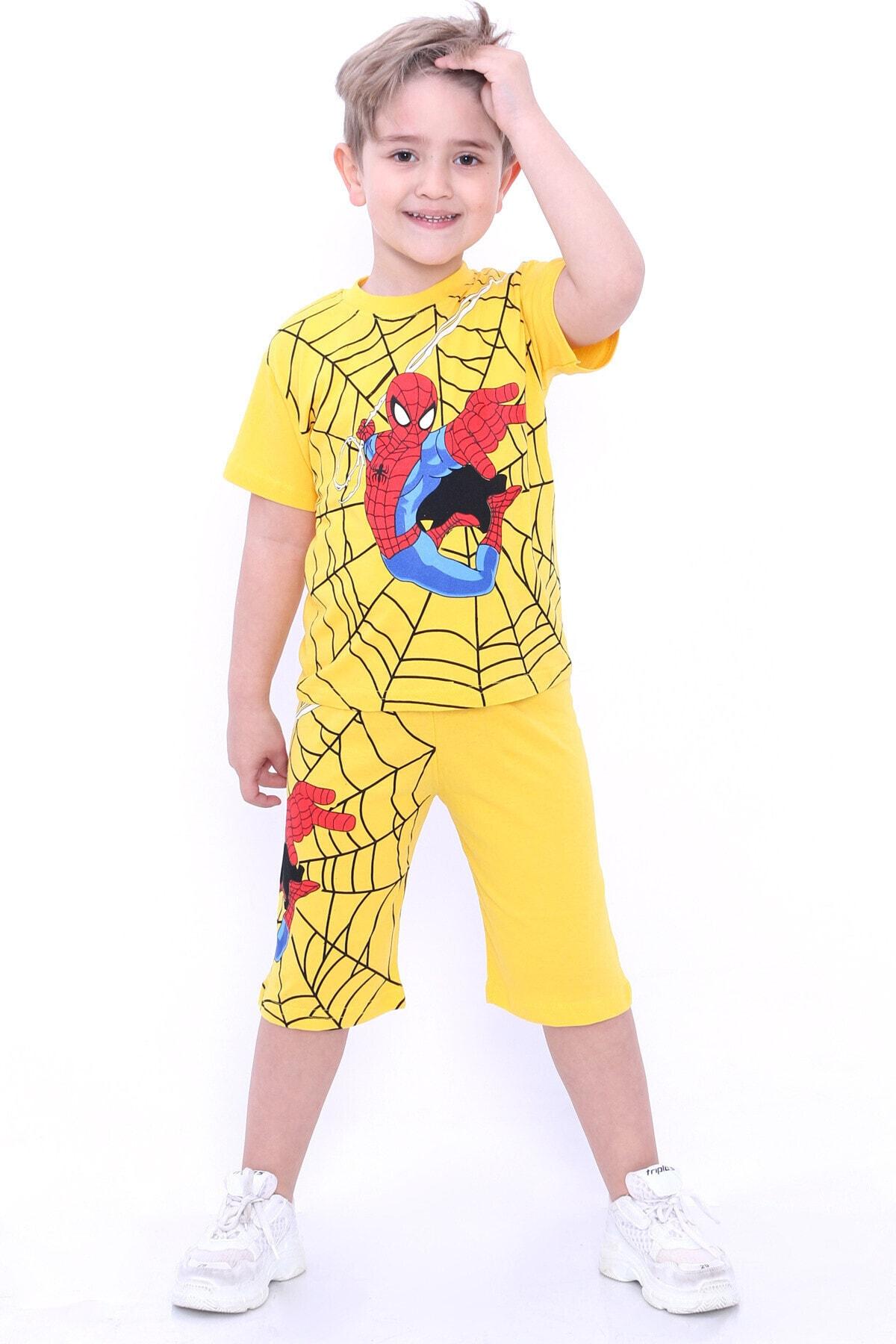 ست لباس بچه گانه اسپرت جدید برند Cansın Mini رنگ زرد ty97970168