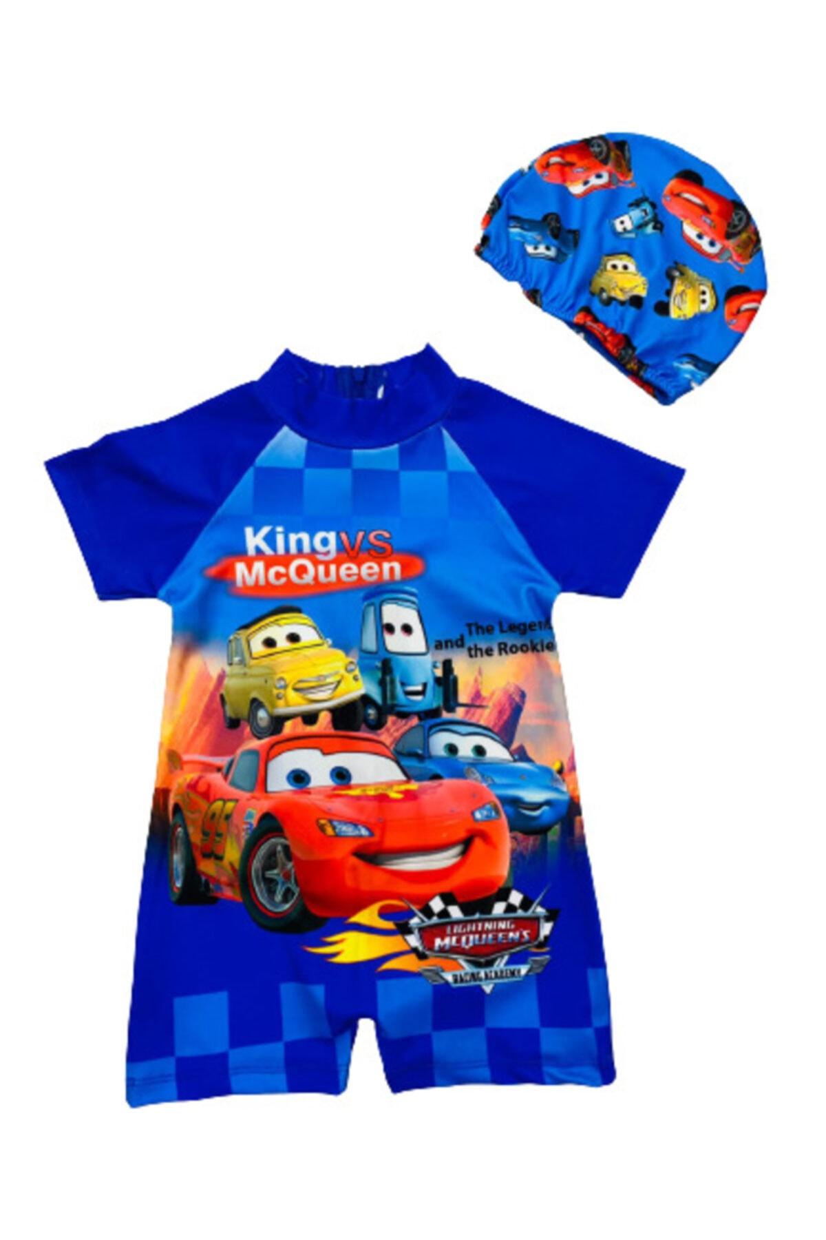 مایو شیک پسرانه برند Lion Fashion رنگ آبی کد ty99475919