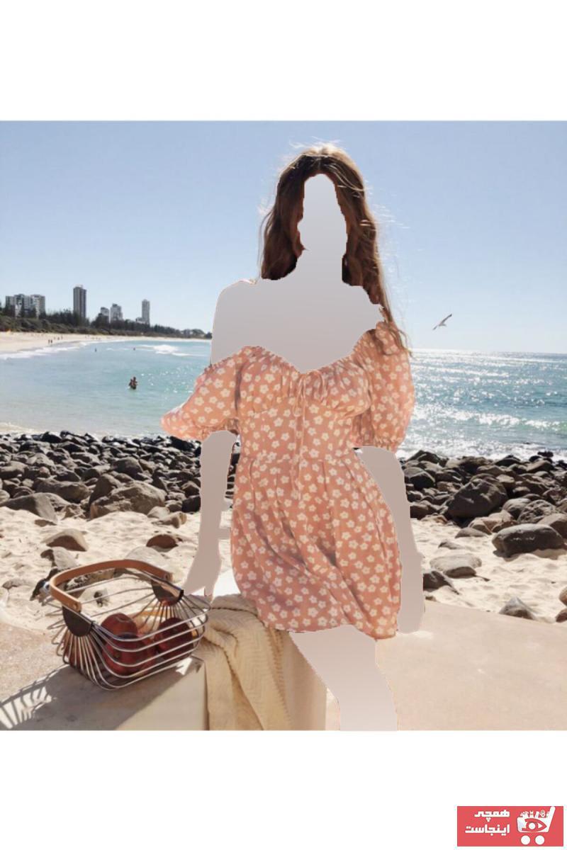 خرید اینترنتی پیراهن خاص زنانه برند MAİ COLLECTİON رنگ صورتی ty118164200