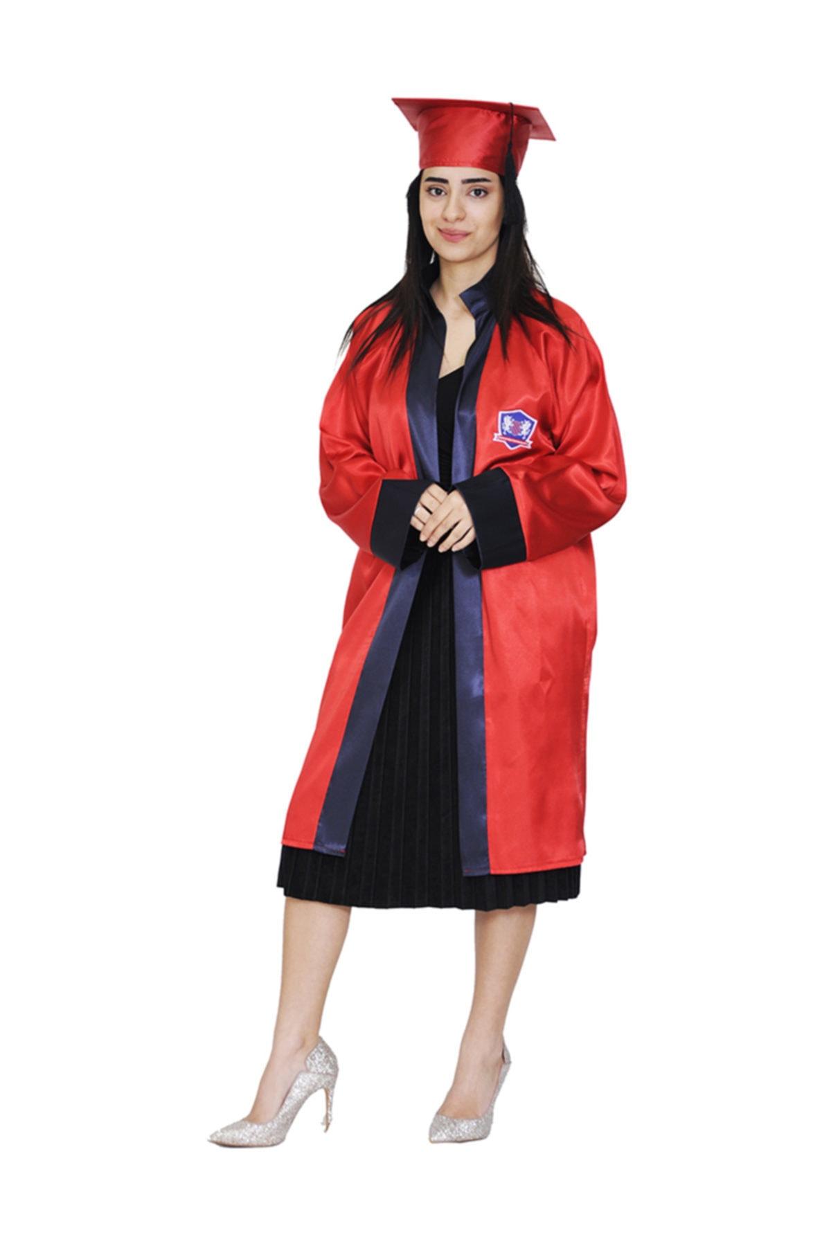 خرید انلاین لباس مجلسی زیبا زنانه برند Mezuniyetshop رنگ قرمز ty35137219