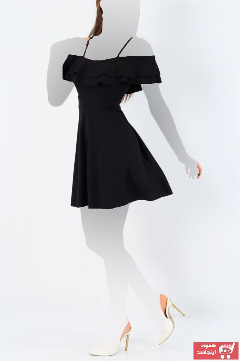 لباس مجلسی زنانه ست برند lovebox رنگ مشکی کد ty46190310