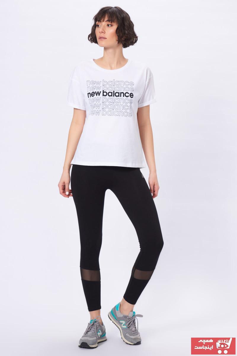 خرید نقدی لگ ورزشی ارزان زنانه برند New Balance رنگ مشکی کد ty4903080