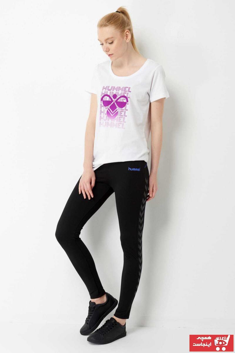 خرید پساپورتی ساپورت ورزشی شیک زنانه برند هومل رنگ مشکی کد ty6000525