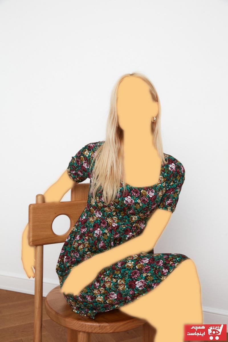 پیراهن زنانه حراجی برند TRENDYOLMİLLA رنگ مشکی کد ty87767124