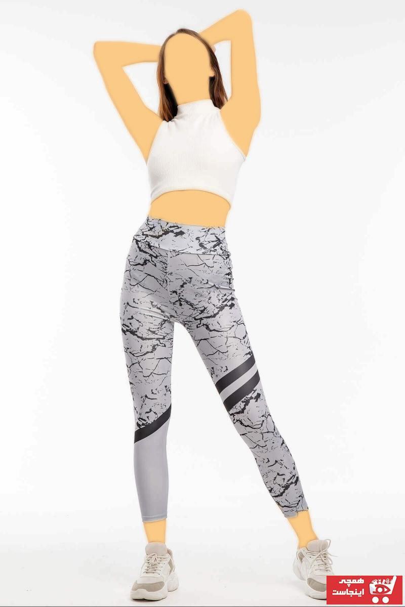 خرید انلاین ساپورت ورزشی زنانه طرح دار برند Mossta رنگ نقره ای کد ty90327193