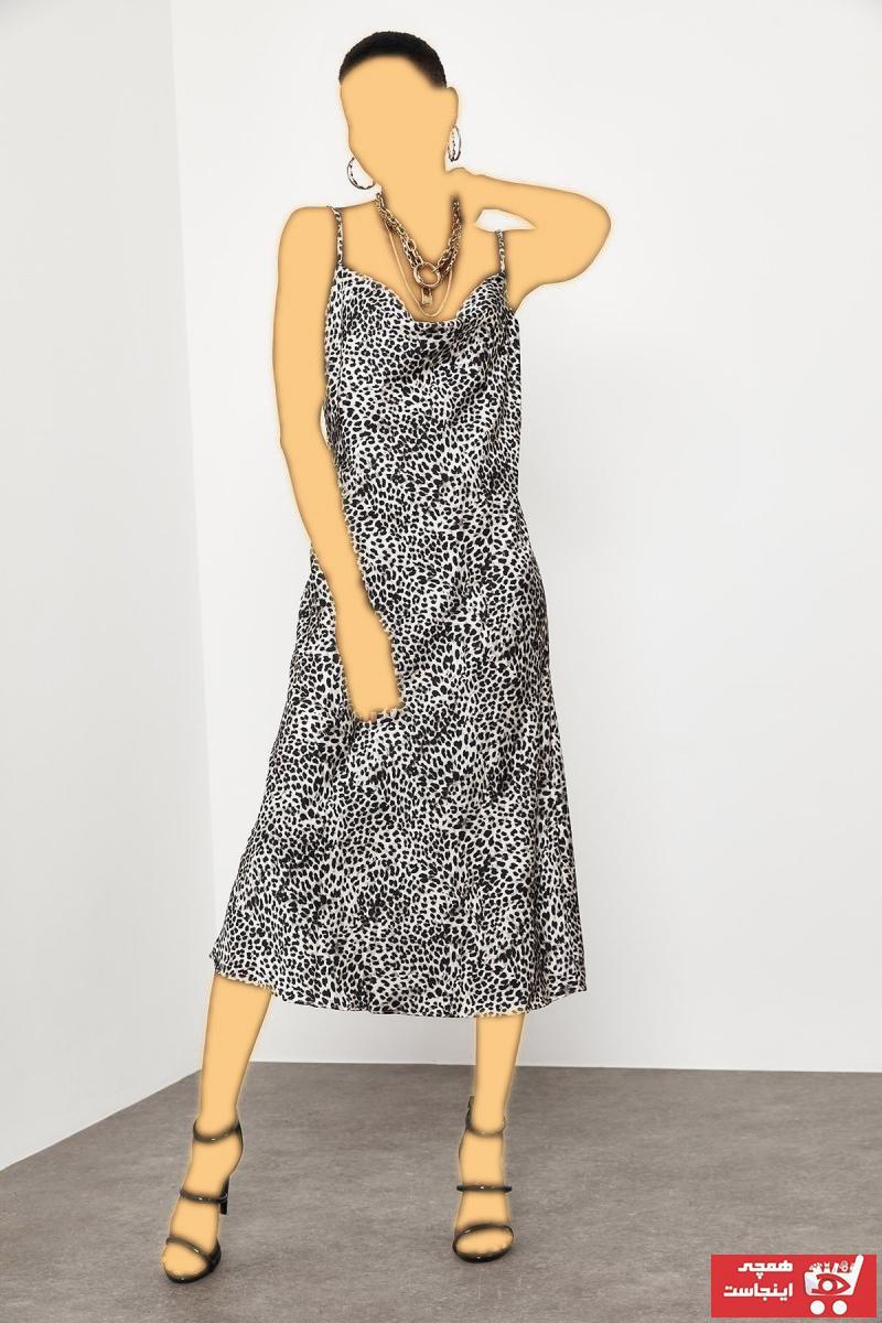 پیراهن زنانه جدید برند XHAN رنگ مشکی کد ty94557447