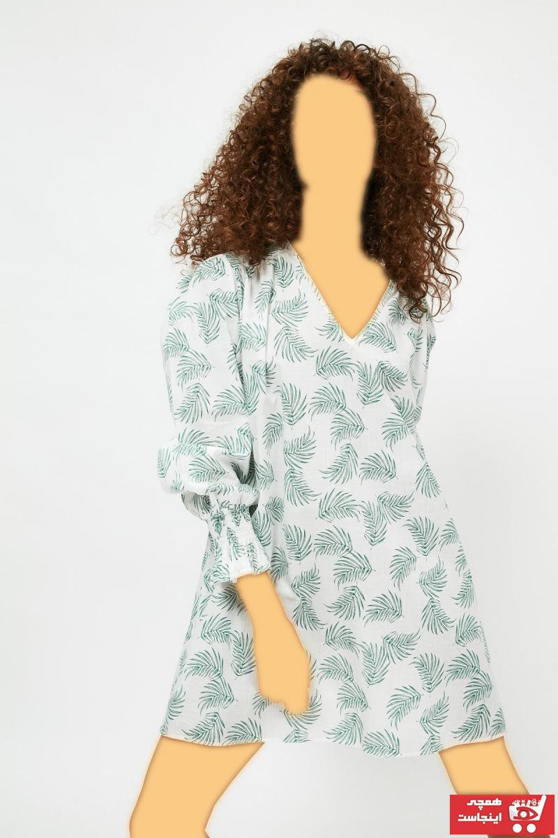 خرید مدل پیراهن زنانه برند ترندیول میلا ترک کد ty97985845