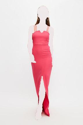 لباس مجلسی زنانه مارک ترندیول میلا رنگ صورتی ty100491843