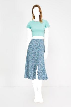 فروش پستی دامن زنانه شیک جدید برند TRENDYOLMİLLA رنگ آبی کد ty112525614