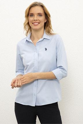 شومیز زنانه قیمت مارک U.S. Polo Assn.برند US Polo رنگ آبی کد ty113272722