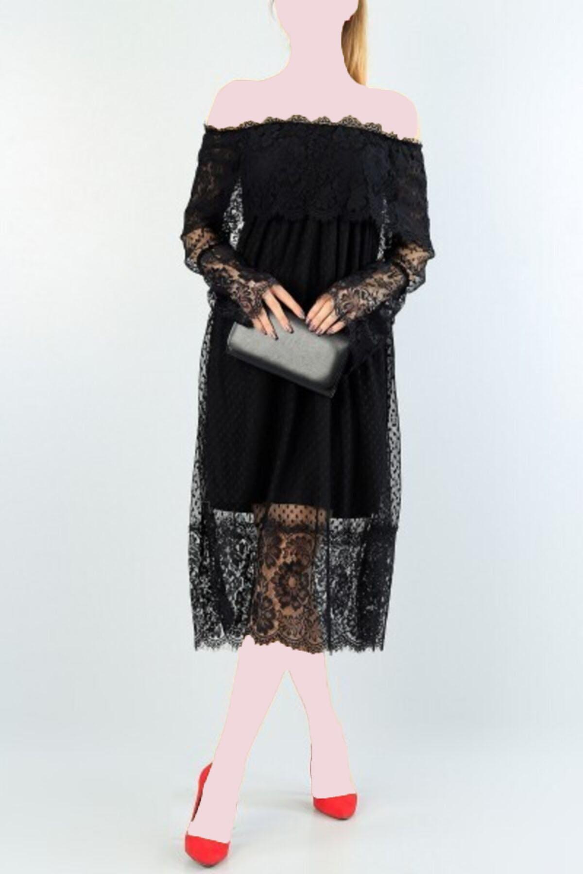 مدل لباس مجلسی زنانه برند tknfashion رنگ مشکی کد ty118962024