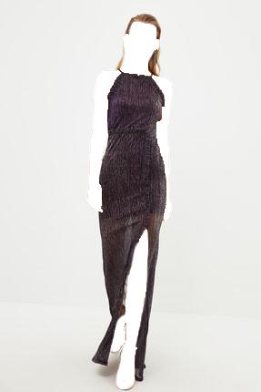 لباس مجلسی 2020 زنانه برند ترندیول میلا رنگ بنفش کد ty119012453