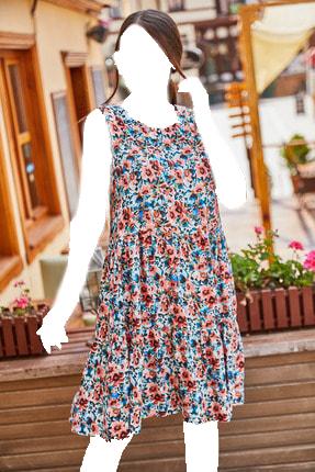خرید اینترنتی پیراهن بلند برند armonika رنگ صورتی ty119086896