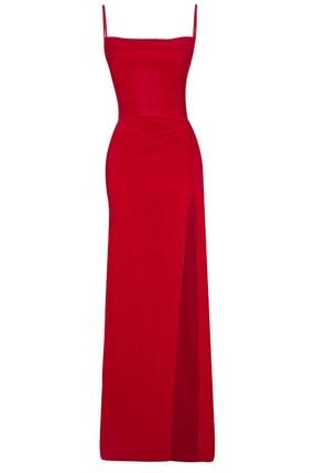 خرید نقدی لباس مجلسی زنانه ترک برند Whenever Company رنگ قرمز ty120957103