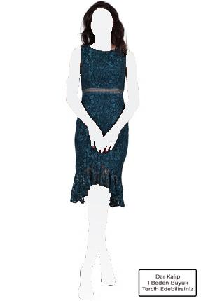 لباس مجلسی زنانه مدل 2020 برند SpringStore رنگ سبز کد ty42116256