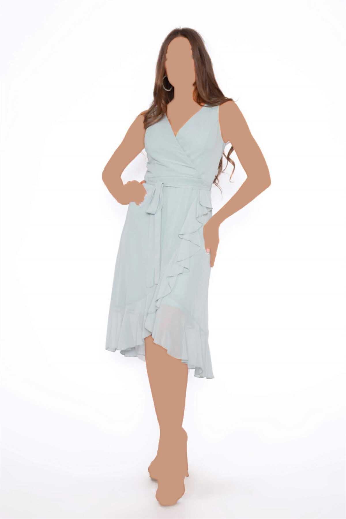 خرید اسان لباس مجلسی زنانه اسپرت جدید برند Carmen رنگ سبز کد ty93045509