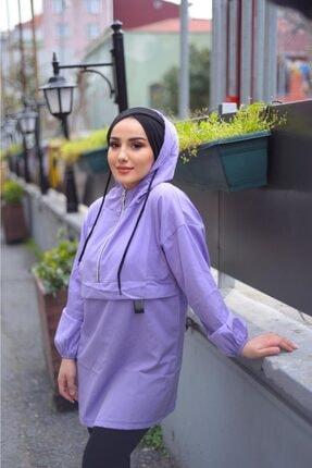 تونیک جدید زنانه شیک برند RİKAMODA رنگ بنفش کد ty100278757