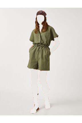 فروش تولوم زنانه 2020 برند کوتون رنگ خاکی کد ty114357007
